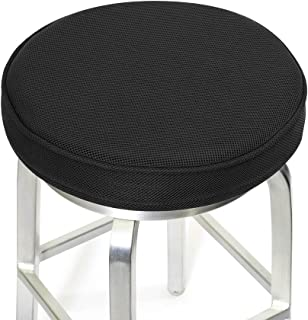 Shinnwa Bar Stool Cushions,Memory Foam Bar Stool Covers Round Cushion with Non-Slip Backing and Elastic Band 12