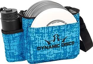 Dynamic Discs Cadet Disc Golf Bag - Fits Up To 10 Discs and 2 Putters - Lightweight, with Adjustable Shoulder Strap, Mesh Pocket, and Drink Holder
