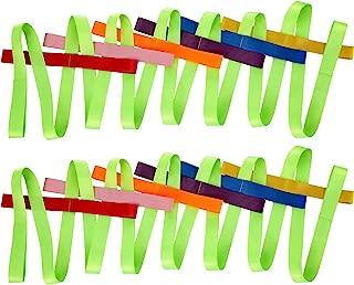 2 Packs Short Walking Rope with 12 Handles for Preschool Children Toddlers Daycare Schools Teachers