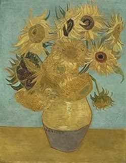 Berkin Arts Vincent Van Gogh Impresión en lienzo Giclee Pintura Impresión de reproducción de póster (girasoles) Tamaño grande 99 x 127,2 cm #SDFB