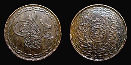 Arunrajsofia Hyderabad Princely State 2 Pie Coin (Brown)