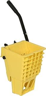 Continental SW12YW, Yellow 12-32 Oz. Splash Guard Side-Press Wringer (Case of 1)