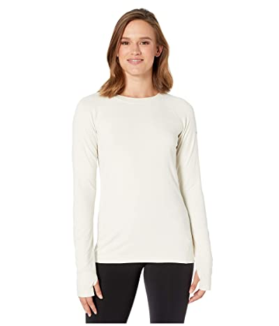 Columbia Bryce Canyontm Long Sleeve Crew (Chalk) Women