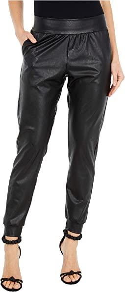 Faux Leather Joggers SLG45