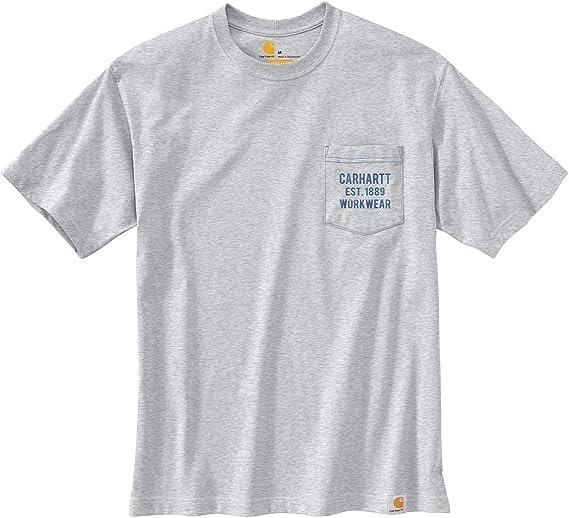 Carhartt Herren T-Shirt Workwear Graphic S//S T-Shirt Port