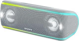 ソニー ワイヤレスポータブルスピーカー SRS-XB41 W : 防水/防塵/防錆/Bluetooth/専用スマホアプリ対応 ライティング機能 2018年 / マイク付き/ ホワイト