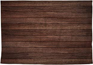 Allenjoy 8x6ft Vintage Brown Wood Photography Backdrop Retro Wood Floor Plank Newborn Baby Portrait Background Baby Shower 1st Birthday Party Banner Decoration Still Life Product Photo Booth Props
