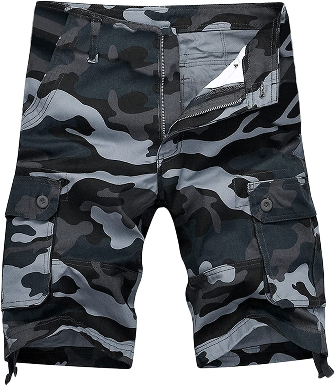 CHENQ 2021 Men's Summer Loose Hole Nostalgic Retro High Street Pants Jeans