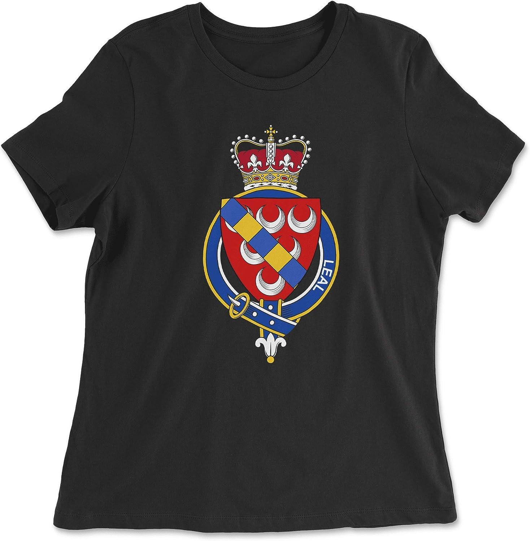 HARD EDGE DESIGN Women's Scottish Garter Family Leal T-Shirt