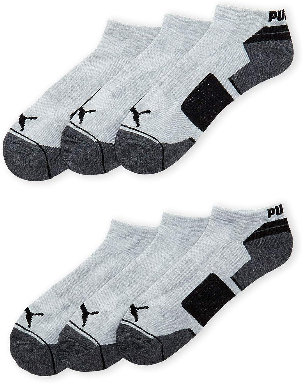 Puma Men's Low Cut Socks, 6 Pairs - Sock Size 10-13 -P113923