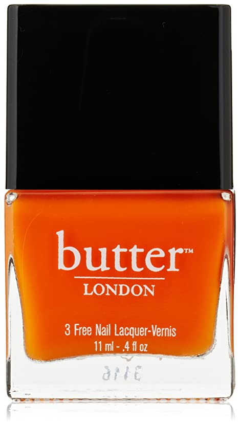 広範囲に算術座るButter London 3 Free Nail Lacquer - Silly Billy 0.4oz (11ml)