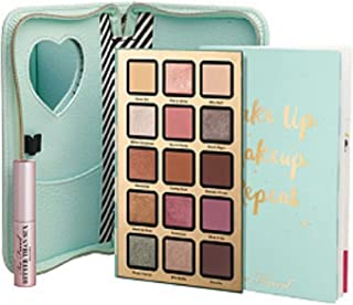 Too Faced Pretty Little Planner Collection - Eyeshadow Palette, Mini Mascara, Agenda Cover & Year-Round Agenda