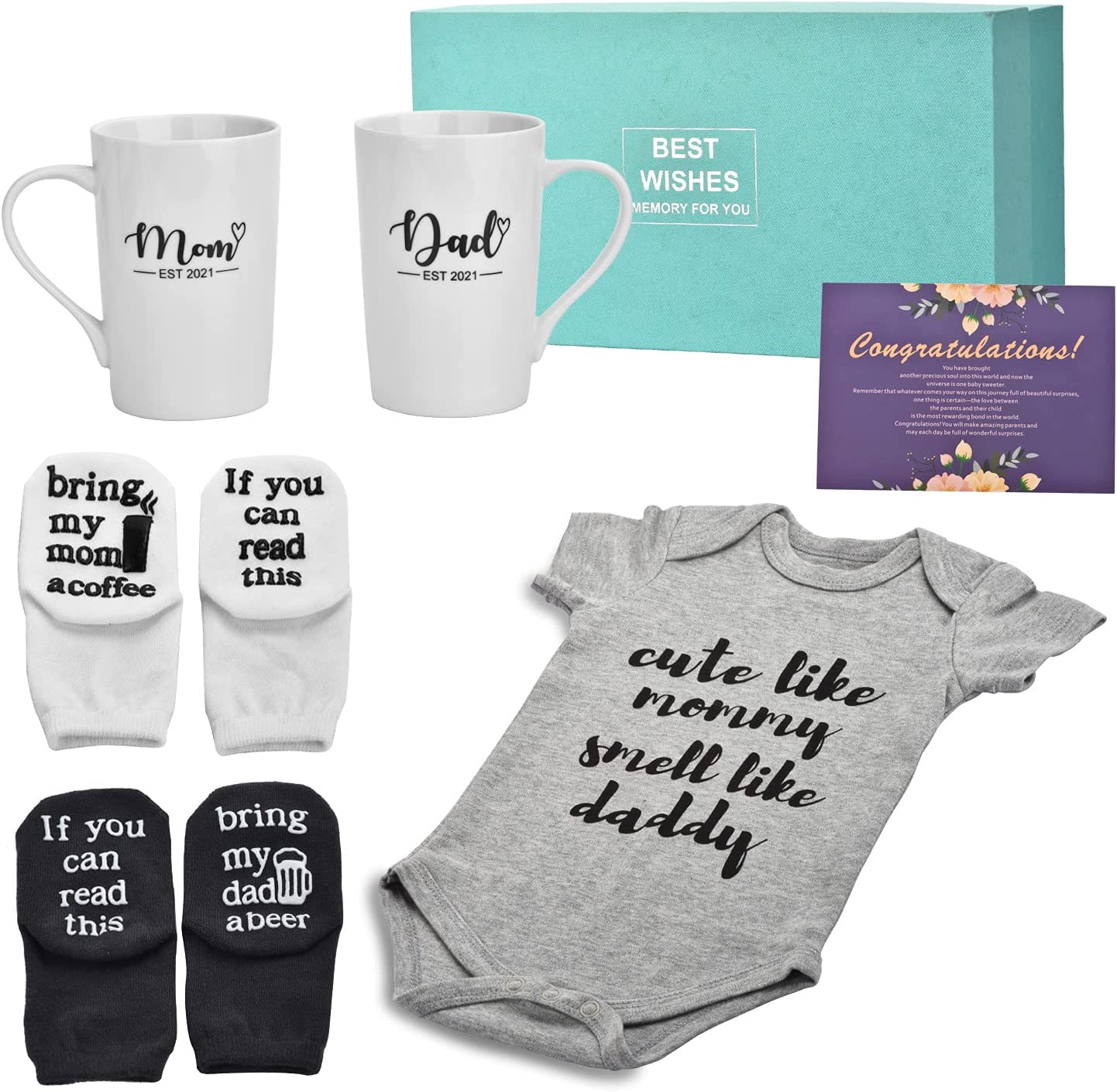 Pregnancy Gifts for First Time Moms - Mom Dad and Charlotte Mall Est security oz 2021 14