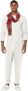 Ralph Lauren Polo Mens Signature Classic Fleece Pants (Small, Heather Grey)