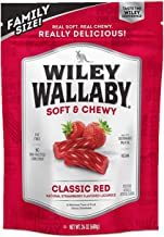 Wiley Wallaby Australian Style Gourmet Red Licorice, 24 Ounce Resealable Bag