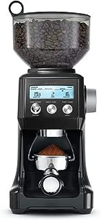 Breville BCG820BKSXL The Smart Grinder Pro Coffee Bean Grinder, Sesame Black (Renewed)