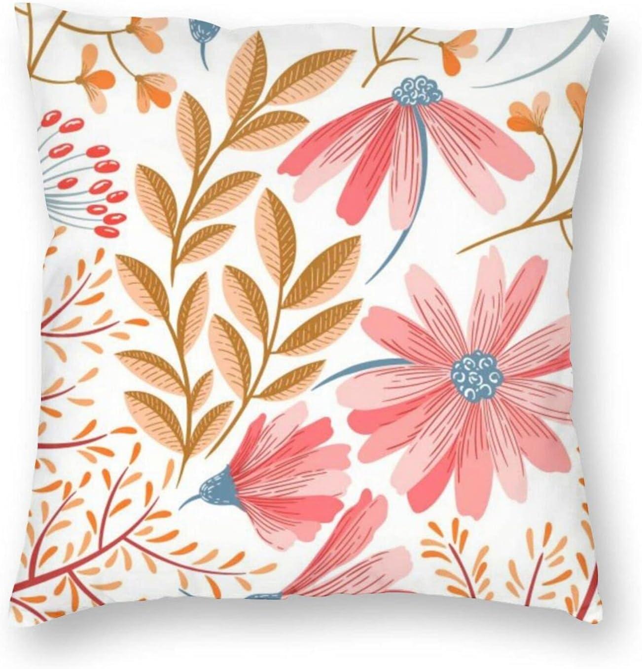 Regular store LineHern 100% Polyester Sale Square Pillowcase Multiple Sm Soft Sizes