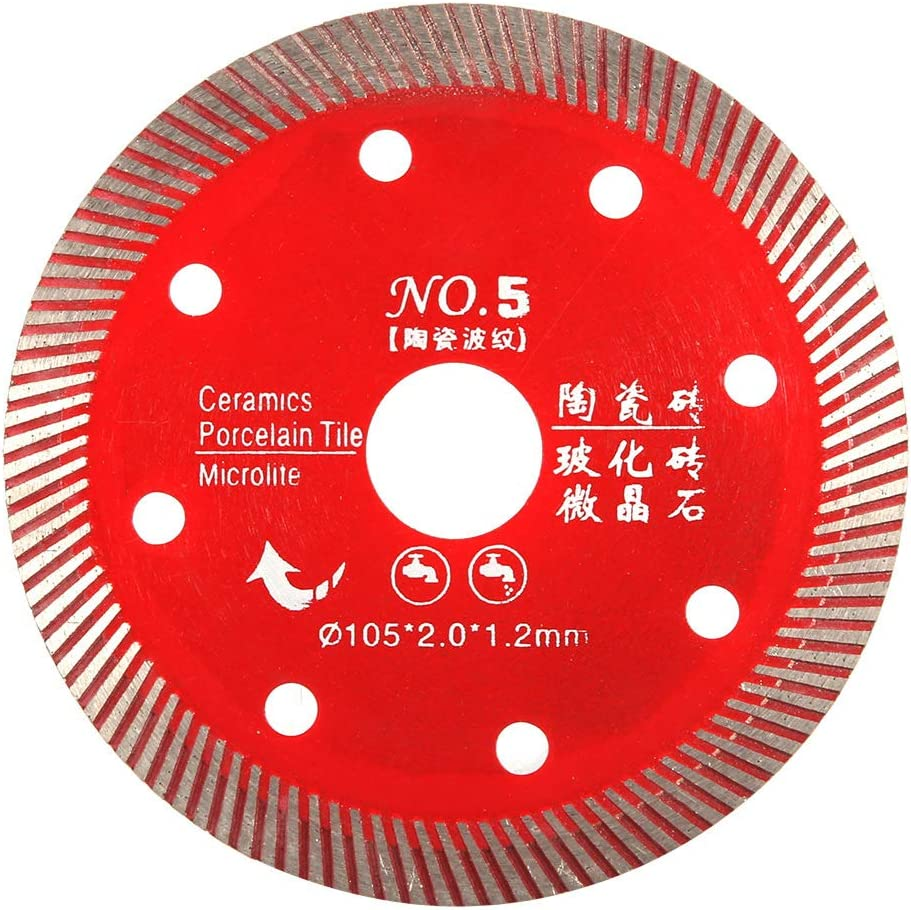 Diamond Turbo Blade Chacerls Red Manufacturer direct delivery Sa Super special price