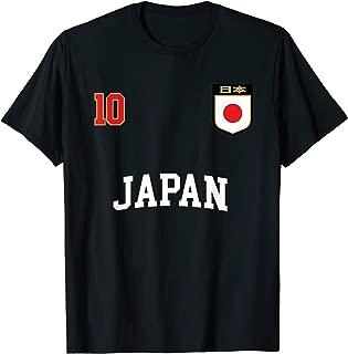 Japan Soccer Team Shirt 10 Retro Japanese Flag Shirt Nihon
