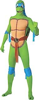 Rubie`s Teenage Mutant Ninja Turtles 2nd Skin Leonardo Adult Costume Jumpsuit, Large
