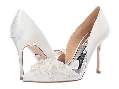 Badgley Mischka Ophelia (Soft White) High Heels