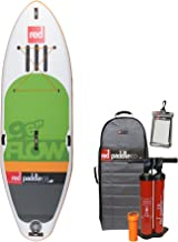 2016 Red Paddle Co 9'6 Flow Inflatable Stand Up Paddle Board + Bag, Pump, Paddle & LEASH