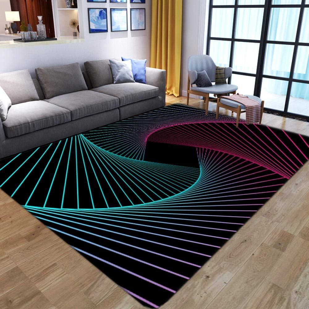 LHGBGBLN 3D Room Family Area Non-Slip Printing Carpet Denver Mall mats specialty shop Floor