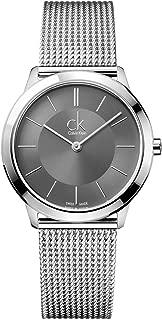 Calvin Klein ck Minimal Mesh Mens Watch K3M21124