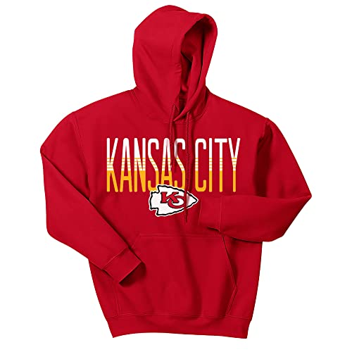 on sale 895be a4293 Kansas City Chiefs Sweatshirt: Amazon.com