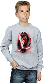 Star Wars niños The Last Jedi Kylo REN Brushed Camisa De Entrenamiento
