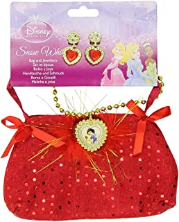Rubie's Official Snow White Bag with Jewellery, Child Costume - One Size