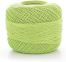 50 g/roll lace zijde katoenen lijn haak garen voor hand breien naald weven groothandel 355m / roll (Color : 8016)