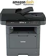 Brother Monochrome Laser Printer, Multifunction Printer, All-in-One Printer, MFC-L5900DW, Wireless Networking, Mobile Printing & Scanning, Duplex Print, Copy & Scan, Amazon Dash Replenishment Enabled