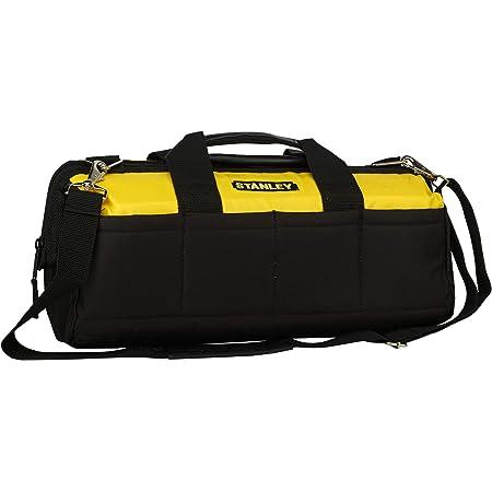 STANLEY 93-224 460mm/18'' Multipurpose Tools Storage Water Proof Nylon Bag (Yellow-Black)