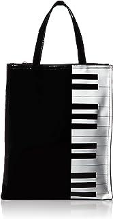 [オーエフエス] エナメルトートバッグ ピアノ柄 1606-4039