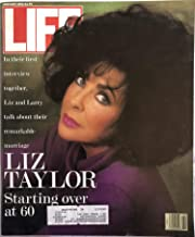 Life Magazine February 1992 Liz Taylor (Cover) and Larry Fortensky, Release of Hostage Terry Anderson, Life Photographer Peter Stackpole