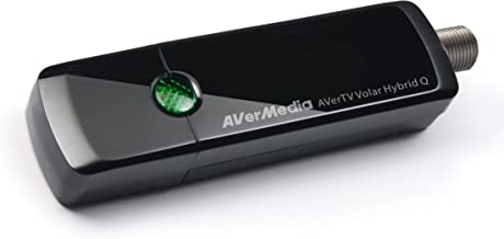 AVerMedia AVerTV Volar Hybrid Q, USB TV Tuner, ATSC, Clear QAM HDTV & FM Radio, Supports Windows & Android TV 7.0 or above (H837)
