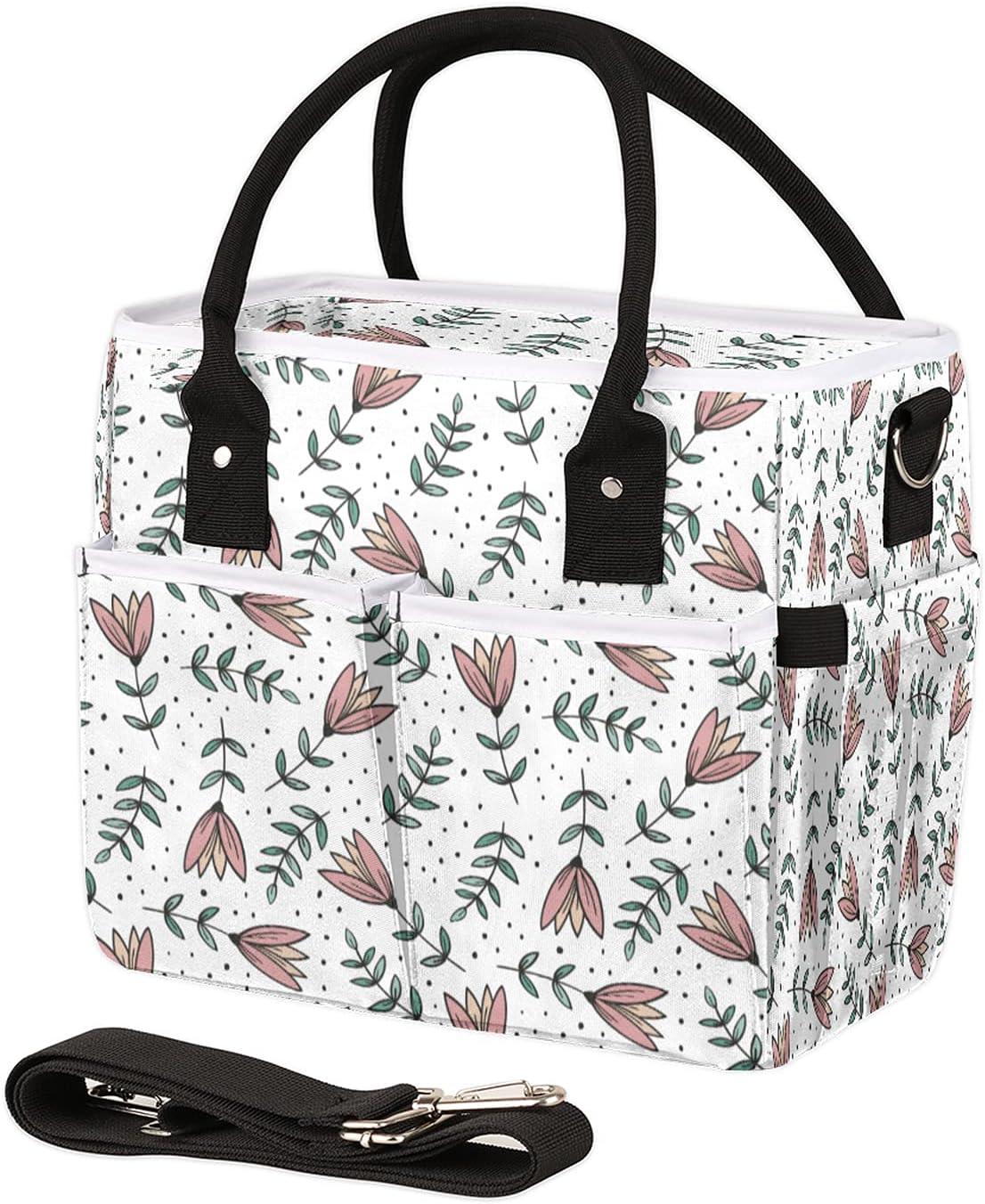 shipfree Insulated Lunch Bag for Women Men Le Polka online shopping Dot Flowers Beautiful