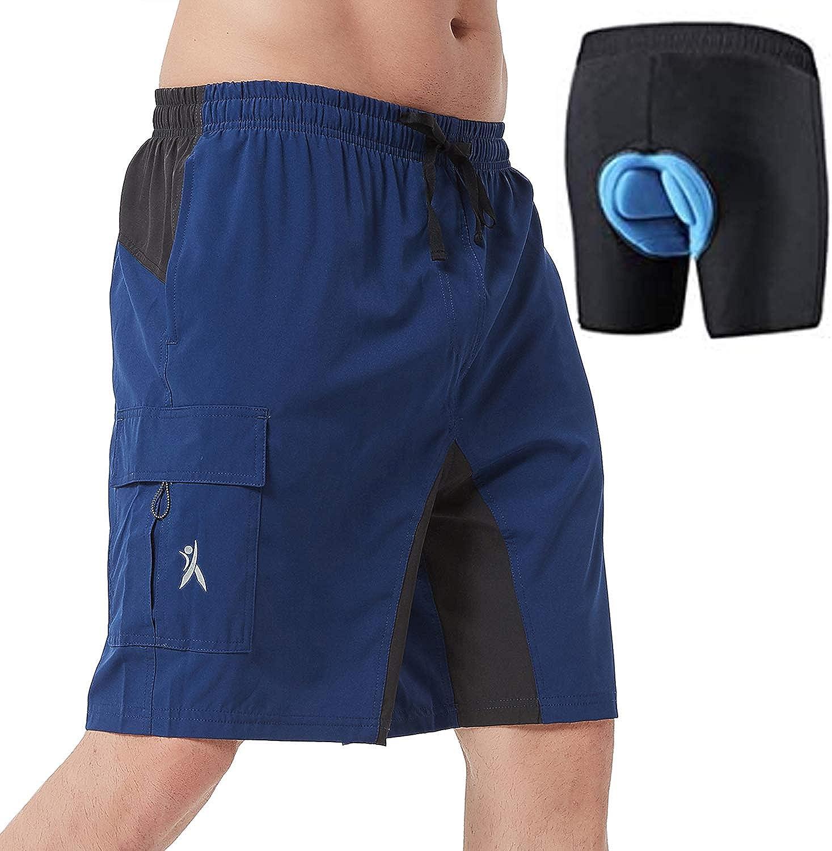 PRIESSEI Men's Mountain Bike Shorts Shor MTB Cycling Max Sale 86% OFF Lightweight