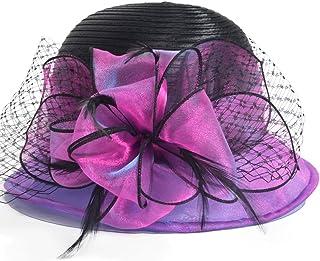 e57a761e70a Kentucky Derby Dress Church Cloche Hat Sweet Cute Floral Bucket Hat