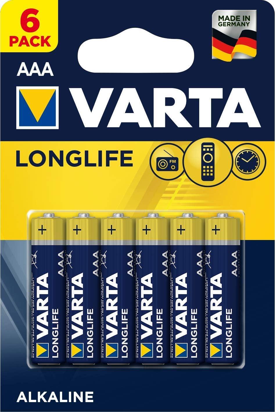Varta Longlife Aaa Micro Lr03 Batterie Alkaline Elektronik