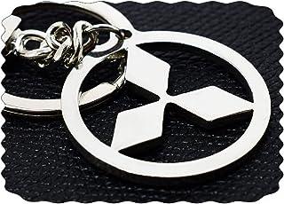 ميدالية من الفولاذ المقاوم للصدأ بشعار السيارة ميتسوبيشى