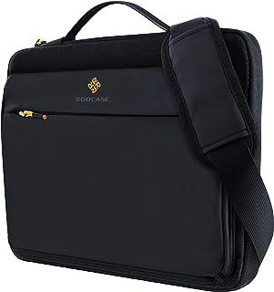 rooCASE Lancaster Laptop Shoulder Bag - MacBook Carrying Case Messenger Bag with Strap Fits 15.6 inch Laptop and Tablet - Business/Travel/School Bags
