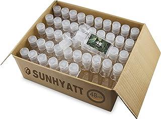 Empty Bottles,48 Pack Empty Plastic Travel Bottles,Clear Travel Bottles,Hand Sanitizer Bottles,Empty Plastic Bottle,Mini P...