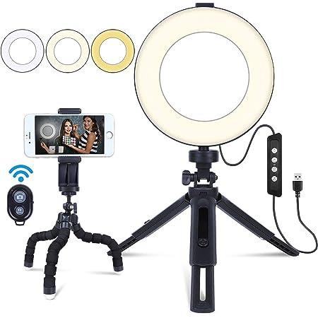 Mactrem 6 Ringlicht Selfie Ringleuchte Mit Stativ Kamera
