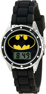 Batman Kids' BAT4045 Batman Watch with Black Rubber Band
