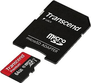 旧モデル 【Amazon.co.jp限定】Transcend microSDXCカード 64GB Class10 UHS-I対応 TS64GUSDU1PE (FFP)