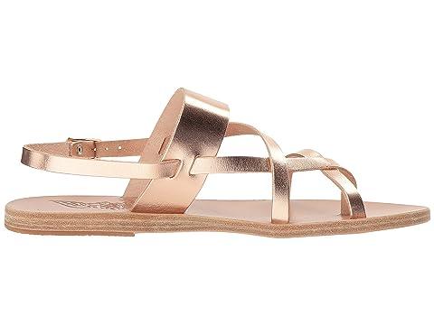Ancient Platinum Sandals Alethea Vachetta Metal Black Greek VachettaNatural Vachetta MixPink qx7ZqpCwB