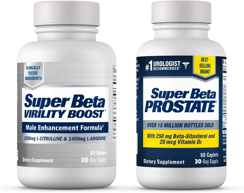 Super Beta Dealing full price reduction Prostate Supplement Cheap SALE Start for Men Boo Virility