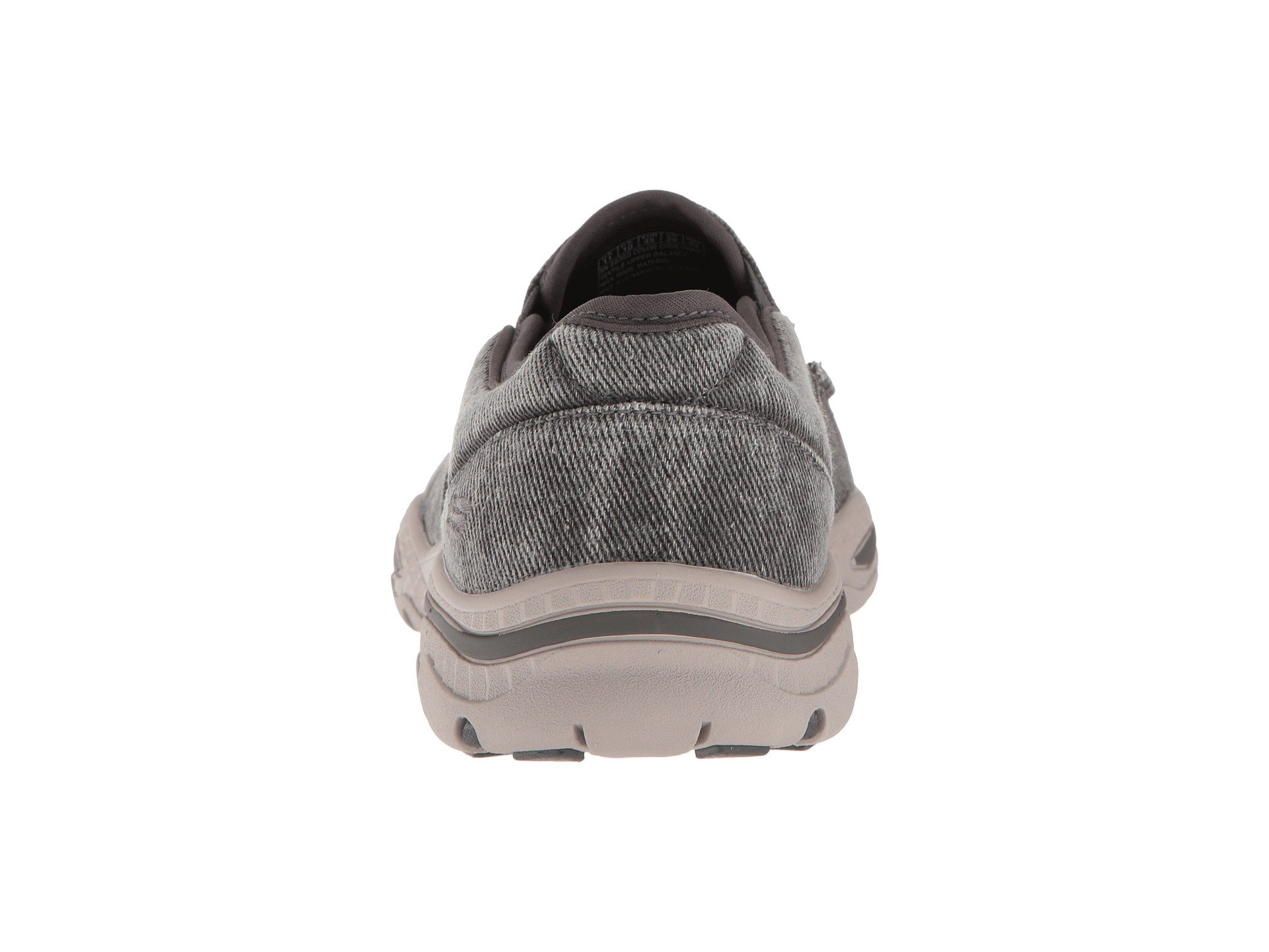 Moseco Creston Charcoal Relaxed Fit Skechers yWnTBfcT